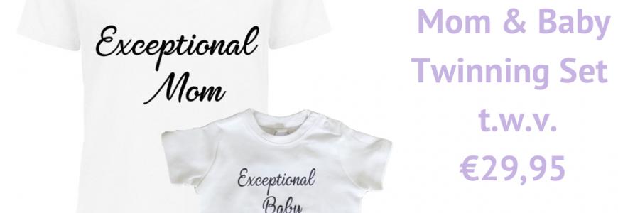 Winactie Exceptional Mom & Baby Twinning Set